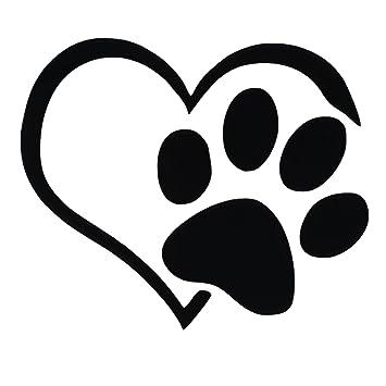 toogoo r 3 x lovely cat dog paw print reflective car decal sticker rh amazon co uk paw print logo for hermitage pa paw print logo brand