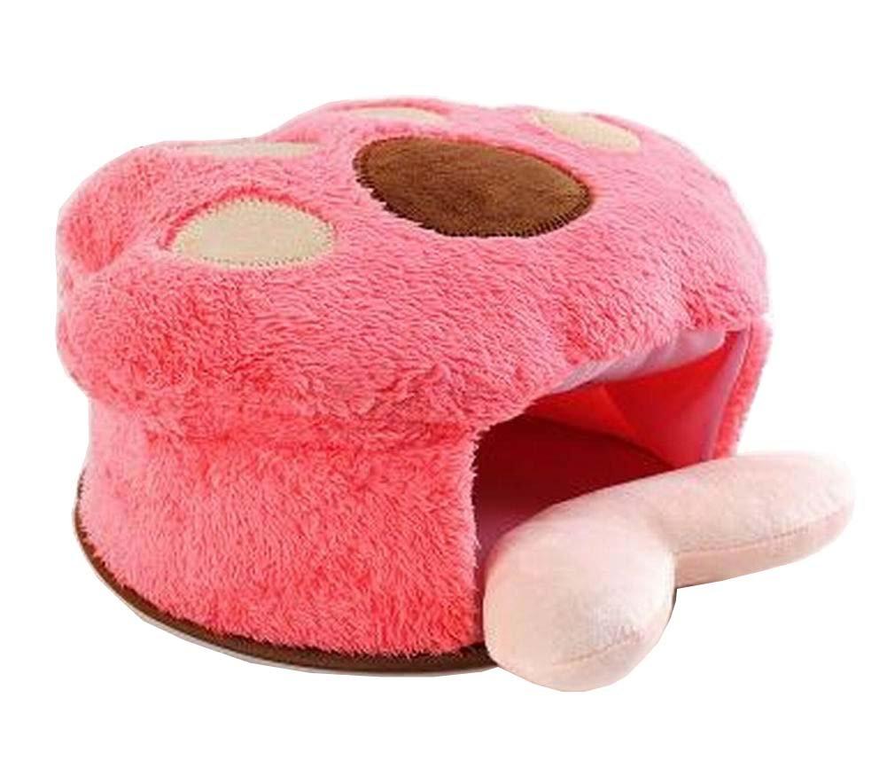 Cojín de ratón ratón ratón con calefacción USB Alfombrillas de ratón con protección para muñeca y garra de oso rojo cb0956