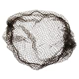 "Heavyweight, Regular 3-string,20""size, 1/4""aperature, Heavy Mesh, Brown Nylon Hairnet (Case of 144)"