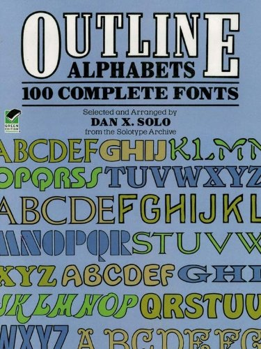 Outline alphabets 100 complete fonts lettering calligraphy outline alphabets 100 complete fonts lettering calligraphy typography by solo fandeluxe Image collections