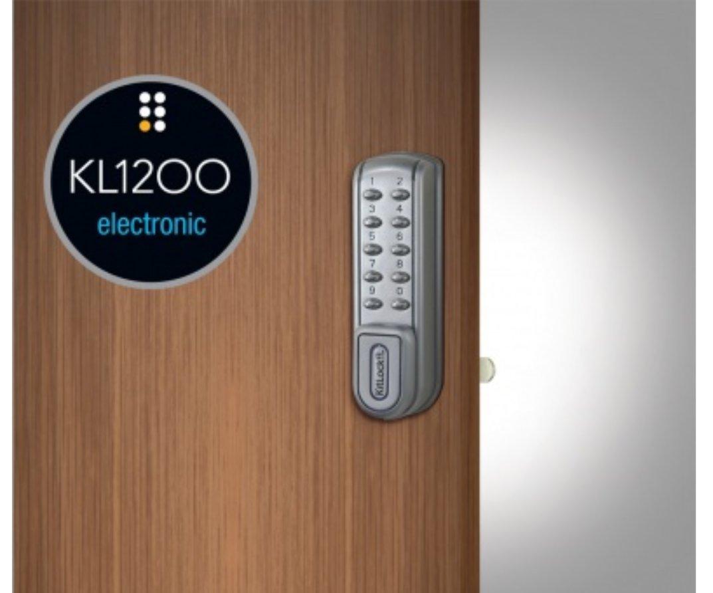 CodeLocks KL1200-SG Heavy Duty Electronic Cabinet Lock
