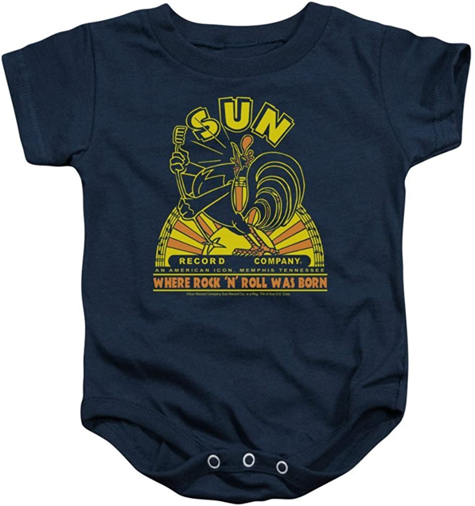 Sun Records Rooster Baby Onesie