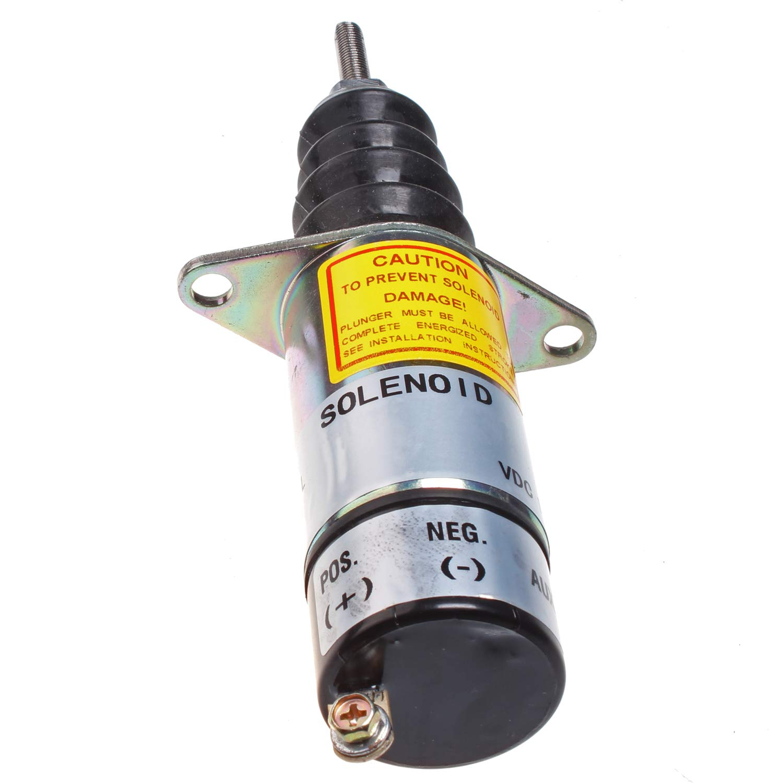 Mover Parts Fuel Shutoff Solenoid 307-1904 3071904 for Onan Generator Solenoid 1502 12V
