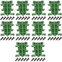 Hilitand 10 Juegos PCB DIN C45 Carril Adaptador