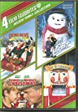 4 Film Favorites - Holiday Family Collection - Richie Rich's Christmas Wish / Jack Frost / Dennis The Menace Christmas / The Nutcracker