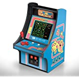 Cabine portátil retrô com Joystick Pac Man Micro Player Dreamgear DGUNL-3230 Azul