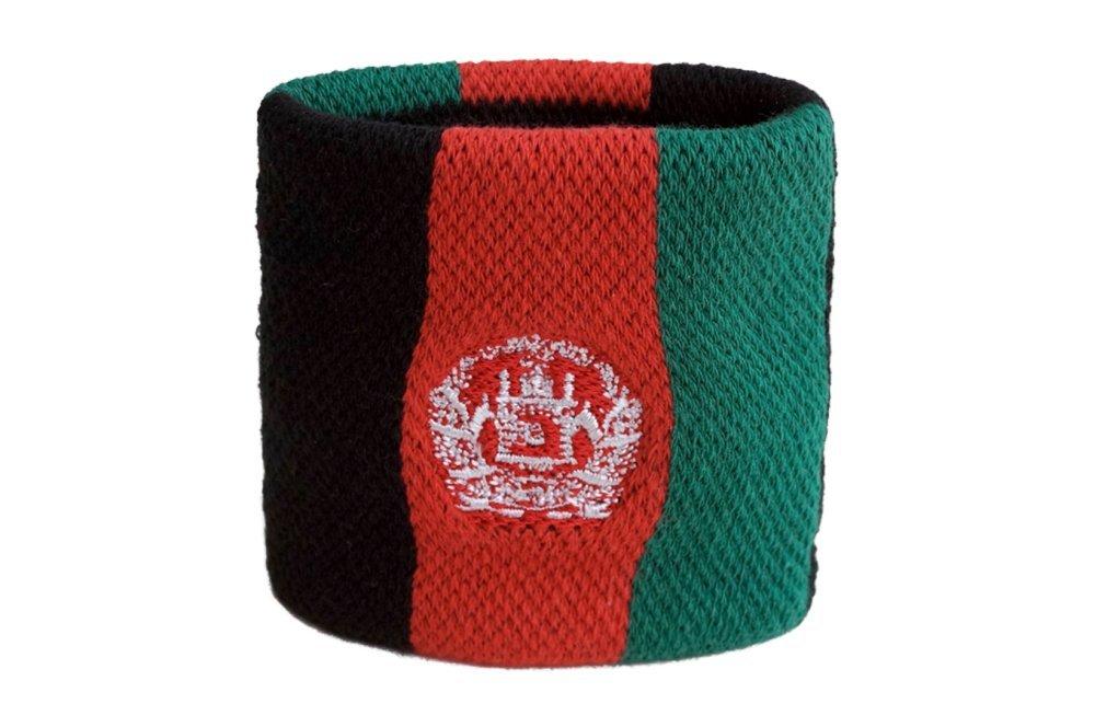 gratis Aufkleber Flaggenfritze Schwei/ßband Motiv Fahne//Flagge Afghanistan