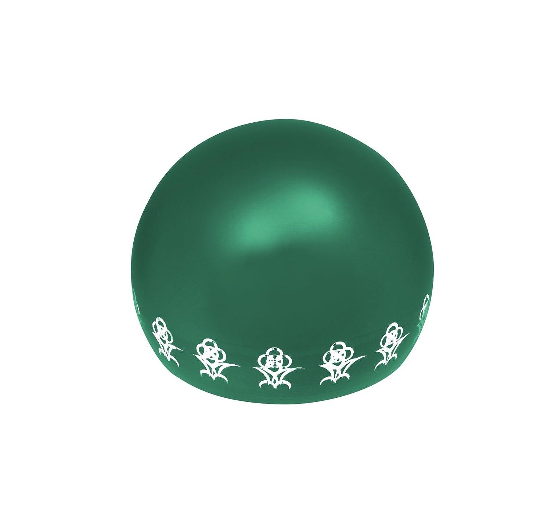 リアン (Lien) 7月ルビー ペット専用骨壺 メモリアルボール リアン オープンフラワー オレンジ B07B15LSJQ グリーン  グリーン 宝石なし