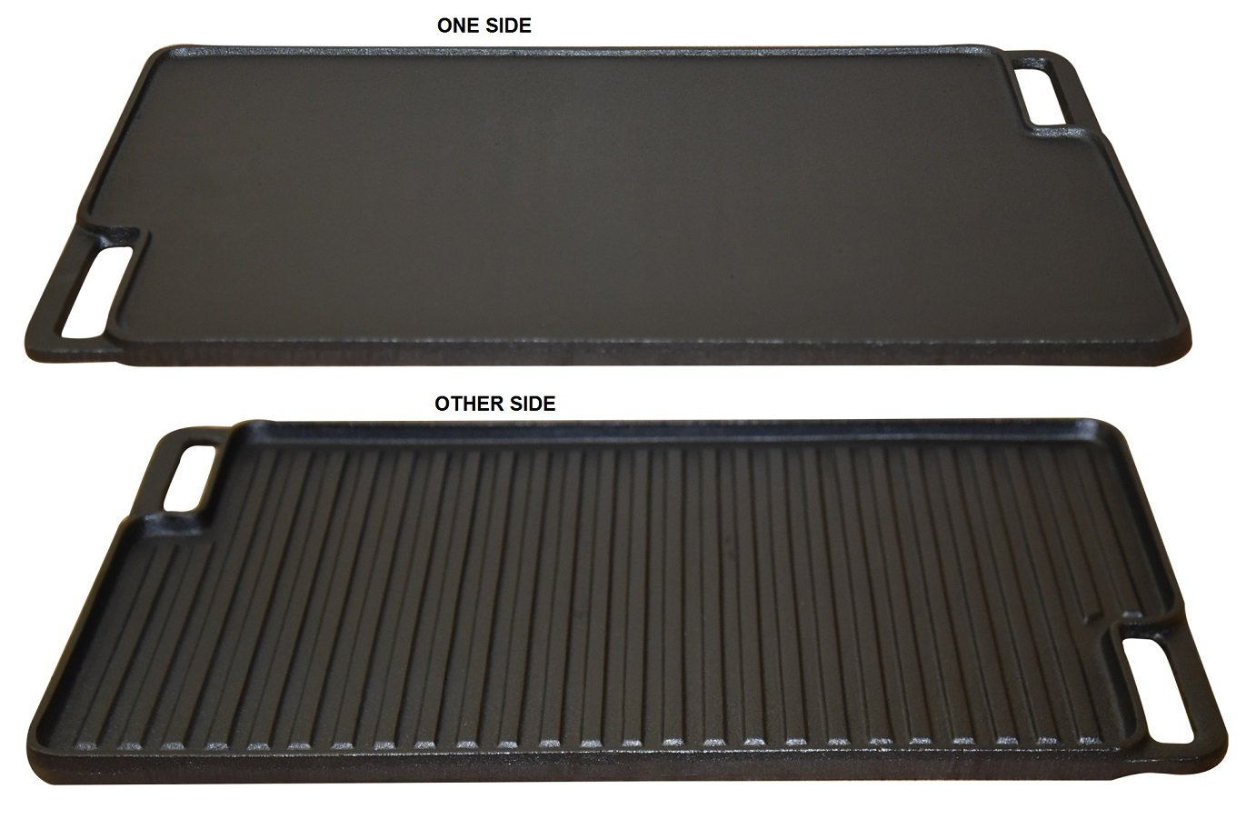 Amazon.com: Wees Beyond Seasoned Reversible 5304-SG Pre-Se. Griddle/Grill Plate, Black: Kitchen & Dining