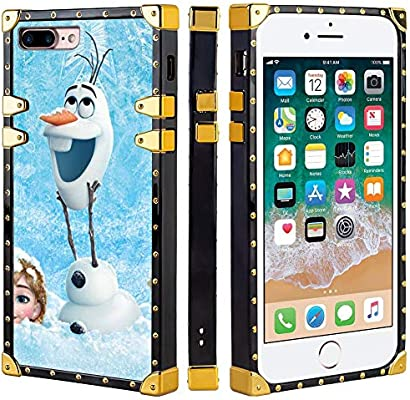 Amazon.com: Disney Collection - Carcasa cuadrada para iPhone ...