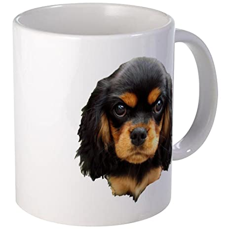 Amazon.com: CafePress Cavalier King Charles Spaniel tazas ...