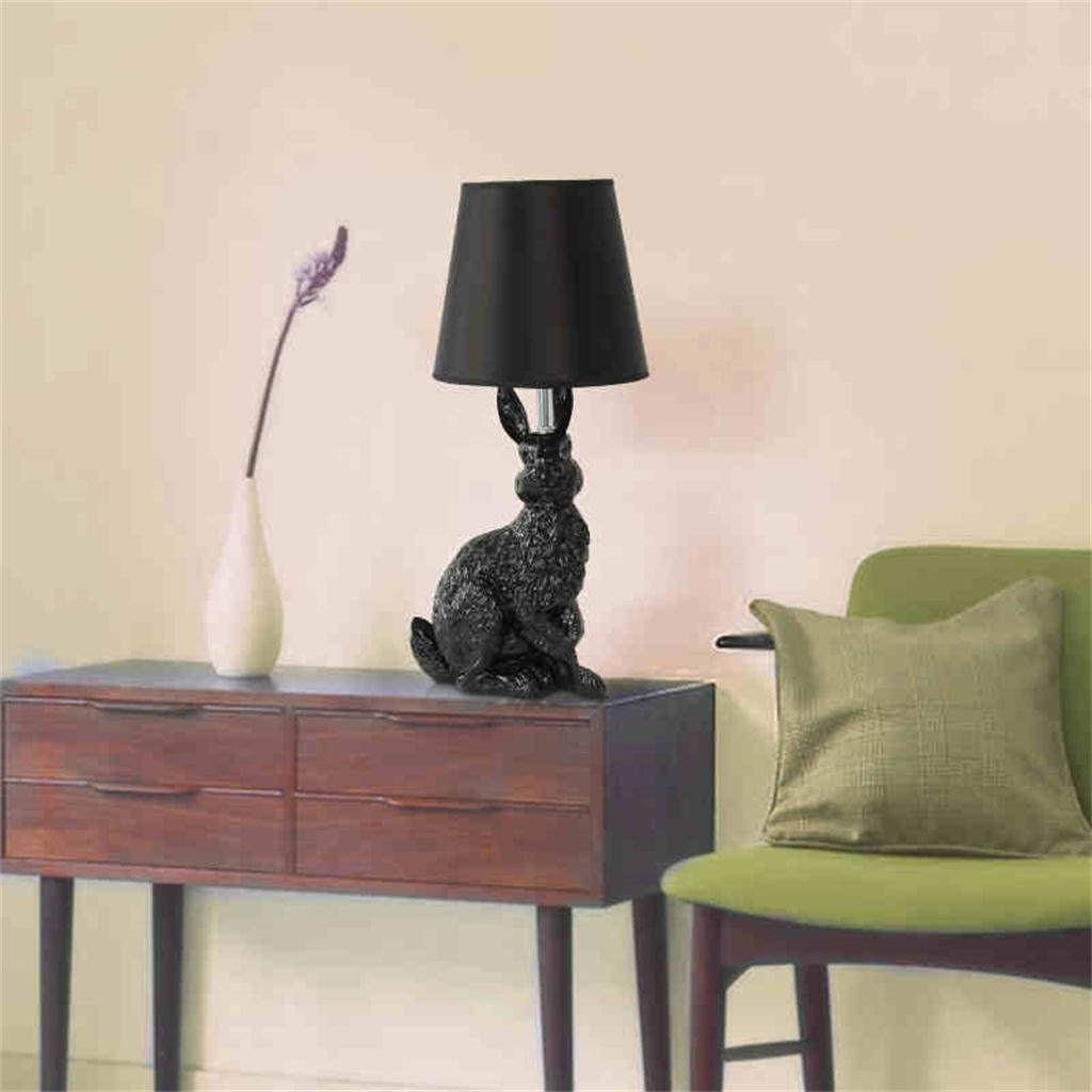 Royal-Resin rabbit lamp modern minimalist living room bedroom bedside lamp table lamp creative personality animal lamp