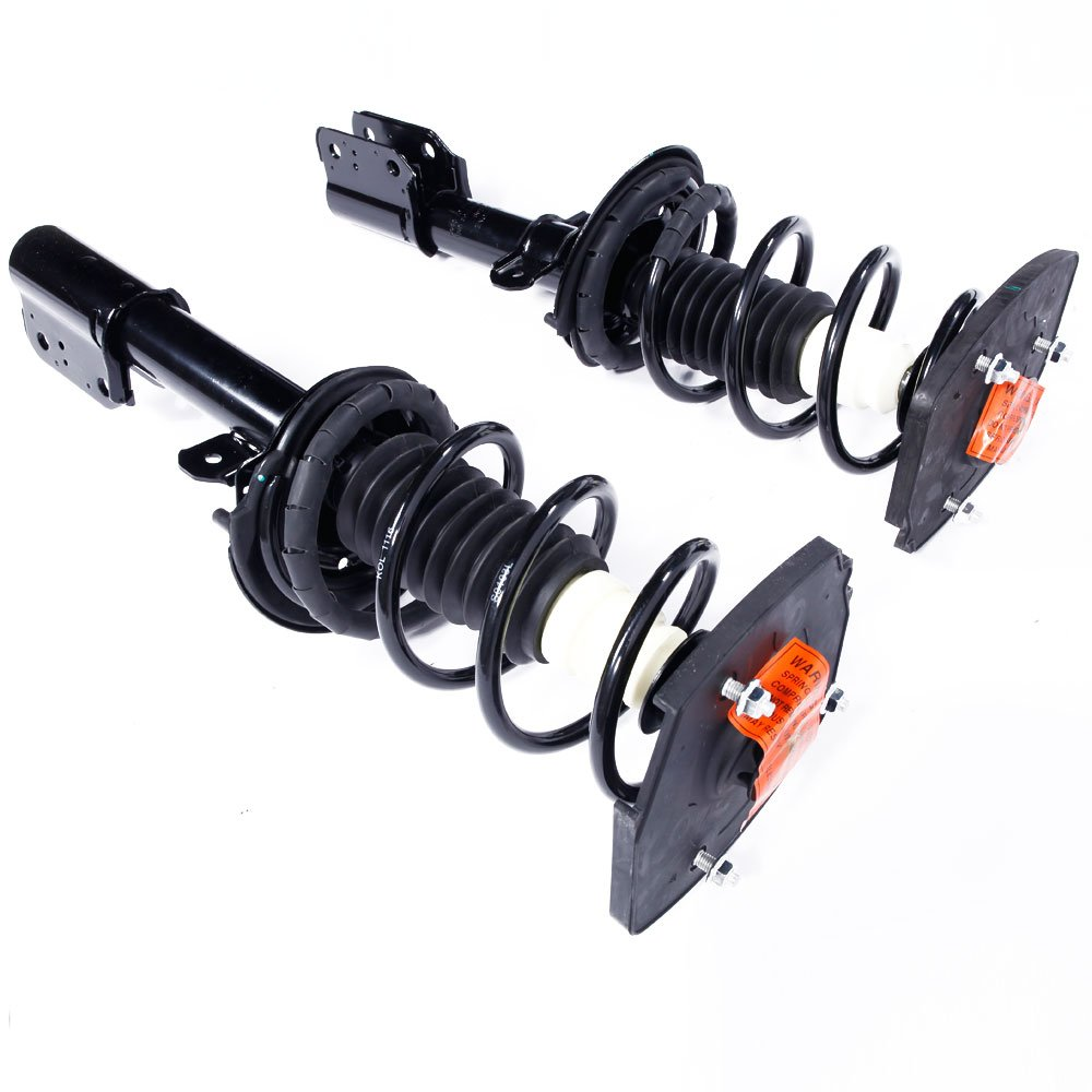 MILLION PARTS 2pc Rear Complete Strut Shock Absorber Assembly 171671 for Chevrolet 2000-2011 Impala 2000-2007 Monte Carlo Oldsmobile 1998-2002 Intrigue