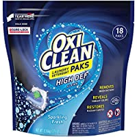 Deals on Oxiclean Laundry Detergent HD Pack, Sparkling Fresh Scent