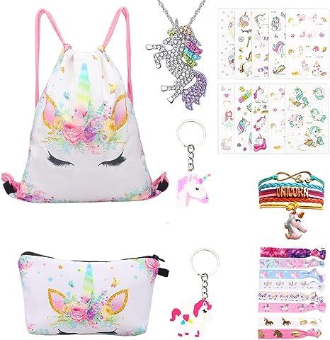 Unicornio Regalos para niñas 24 Pack – Unicornio Cordón Mochila ...