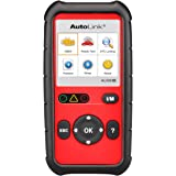 Autel Code Reader AutoLink AL529HD Heavy Duty OBDII Scanner for Check Engine Light,Support Read and Clear Error Codes Query DTCs