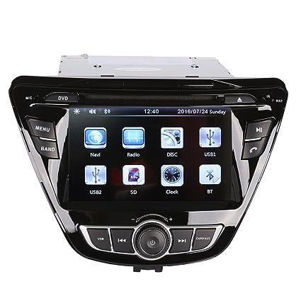 Super Amazon Com 7 Inch Touch Screen Car Gps Navigation For Hyundai Wiring Cloud Pendufoxcilixyz