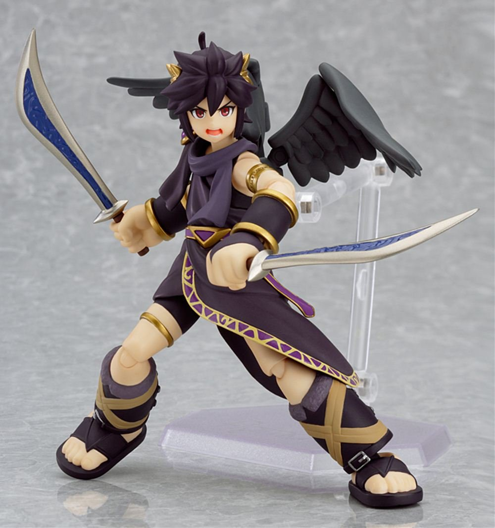 Amazon Good Smile Kid Icarus Uprising Dark Pit Figma Action Figure Toys Games