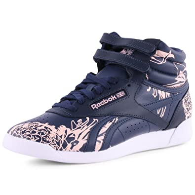 Reebok Freestyle Hi Graphics, Chaussons Montants Femme