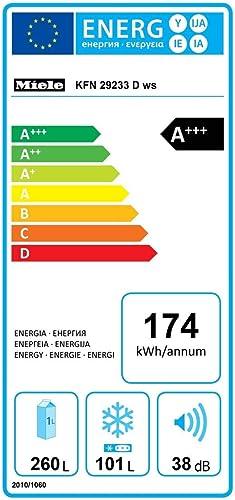 Miele KFN 29233 D ws: Amazon.es: Electrónica