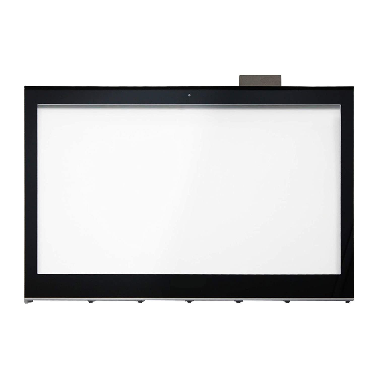 LCDOLED Compatible 15.6 inch Touch Screen Glass Digitizer + Bezel Replacement for Sony VAIO T15 SVT15 SVT151A11L SVT15115CXS SVT15112CXS