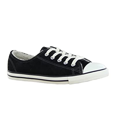 7396a6df21bc Converse CT All Star Dainty Ox Black Youths Trainers Size 5.5 UK   Amazon.co.uk  Shoes   Bags