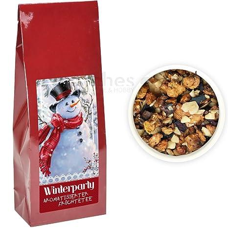 matches21 té de fruta Aroma Navidad/Navidad Invierno Tee – 200 gr. Fabricado en