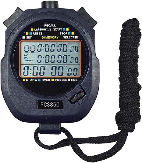 Pandady Grande Display Digitale cronometro Timer, Pulsanti