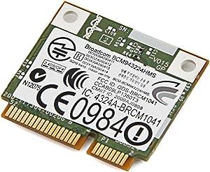 Dell DW1520 BCM4322 Wireless 1520 WLAN 802.11AGN Half Size Mini PCI Express Card Broadcom BCM943224HMS