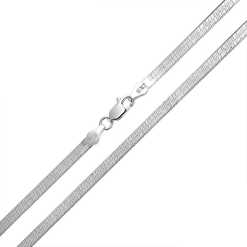 35 55 100cm 50 20 80 30 90 70 25 85 95 4mm thick solid sterling silver 925 Italian Herringbone chain necklace bracelet anklet with lobster claw clasp jewelry 75 15 40 60 45 65