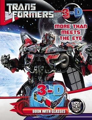 Transformers More Than Meets the Eye: 3D Book with Glasses: Amazon.es: Hasbro: Libros en idiomas extranjeros