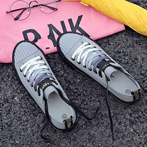 Deportivos Libre De Vulcanizados Otoño Lona Zapatillas Ysfu Ligeras Aire Al Casuales Zapatos Mujer wxa16