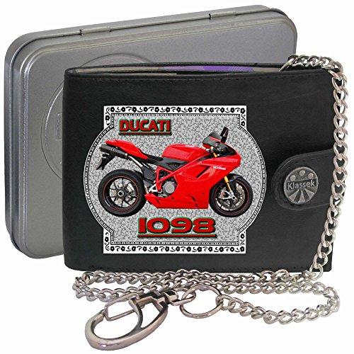 Ducati 1098 Klassek Herren Geldbörse Geldbeutel Portemonnaie mit ...