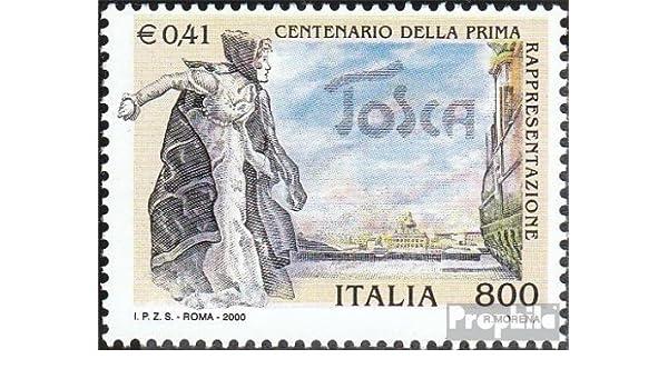 Prophila Collection Italia Michel.-No..: 2670 (Completa.edición.) 2000 ópera Tosca (Sellos para los coleccionistas) Música / Bailar: Amazon.es: Juguetes y juegos