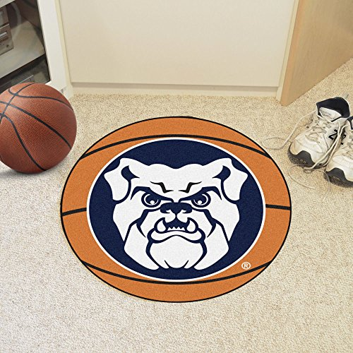 BUTLER BULLDOGS NCAA BASKETBALL ROUND FLOOR MAT (29) SIZE ONE