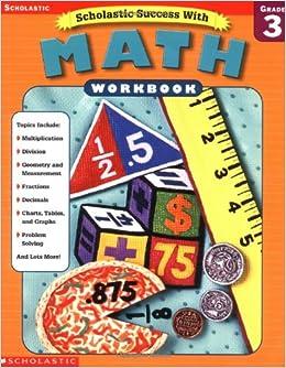 Amazon.com: Scholastic Success With: Math Workbook: Grade 3 ...