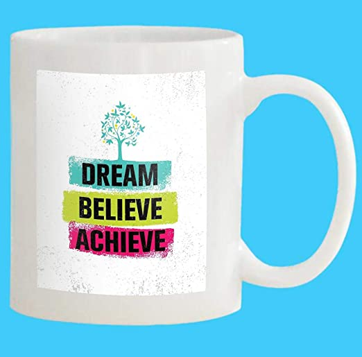 Always Believe In Yourself Mug coffee tea cup motivation inspirational gift