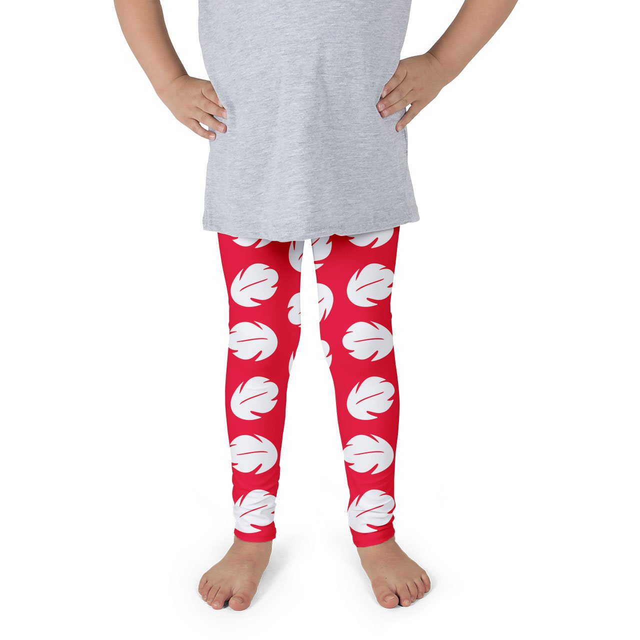 Lilo Hawaiian Dress Disney Inspired Kids Leggings