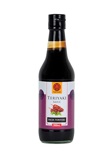 Tiger Khan Salsa Asiática Teriyaki - 300 ml