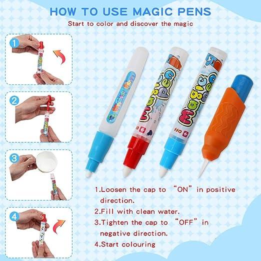 Amazon.com: Rcail 4Kids Aqua Magic Doodle Mat - Alfombra ...