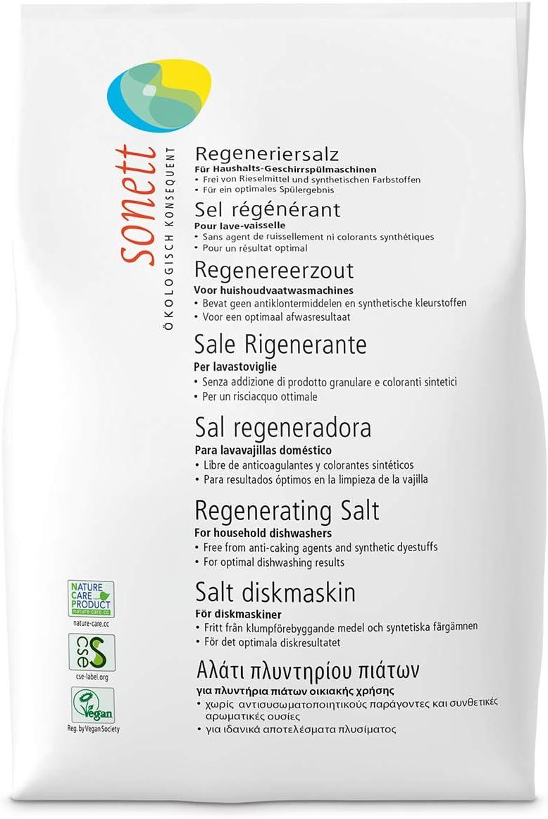 Sonett 6020 - Sal regeneradora lavavajillas Sonett, 2kg