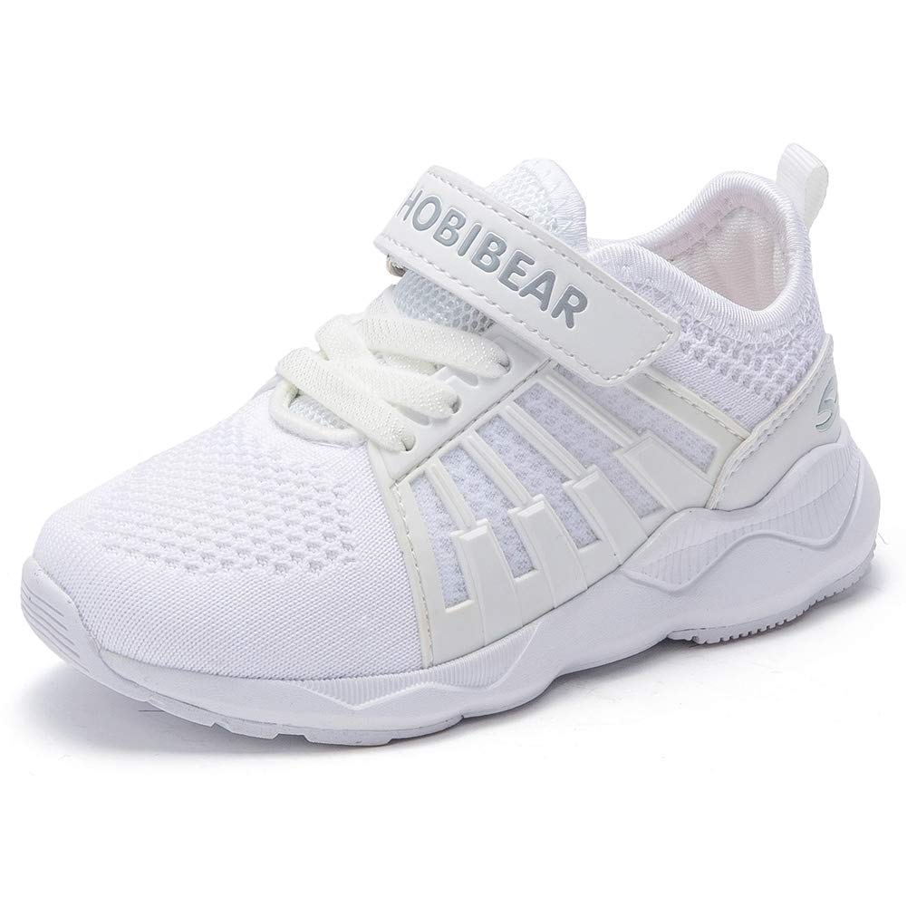 best service e2da3 f67d1 HOBIBEAR Kids Breathable Knit Sneakers Lightweight Mesh Athletic Running  Shoes product image
