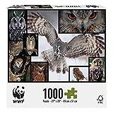 WWF Owls 1000 Piece Puzzle by Merchant Ambassador