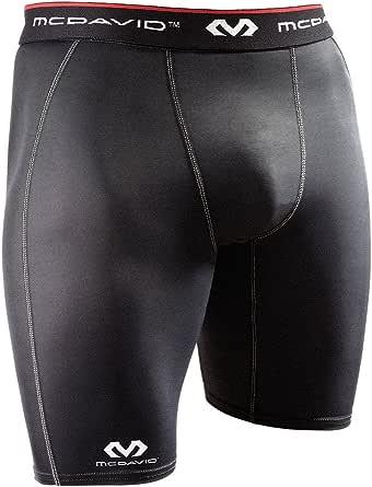 McDavid Compression Shorts, Black, Medium