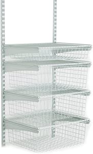 ClosetMaid 2815 ShelfTrack 4 Drawer Kit