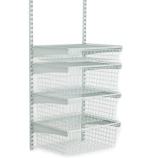 closetmaid shelftrack 4 drawer kit