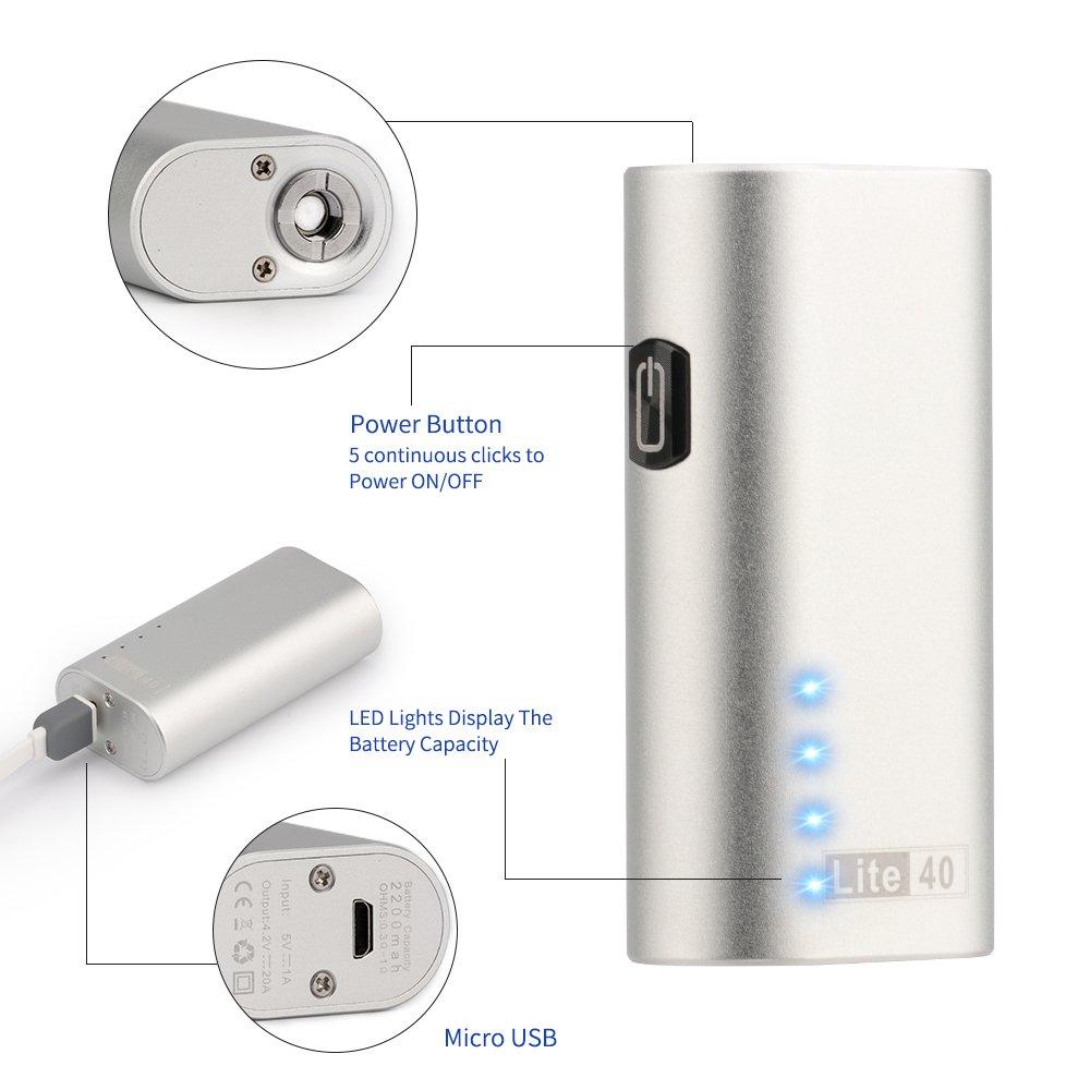 JOMO TECH Lite 40 Cigarrillo Electrónico Modelo clásico en 2200mAh 0.5 Ohm Resistencia E-Cigarrillo Sin Nicotina y Sin E-líquido: Amazon.es: Salud y cuidado ...