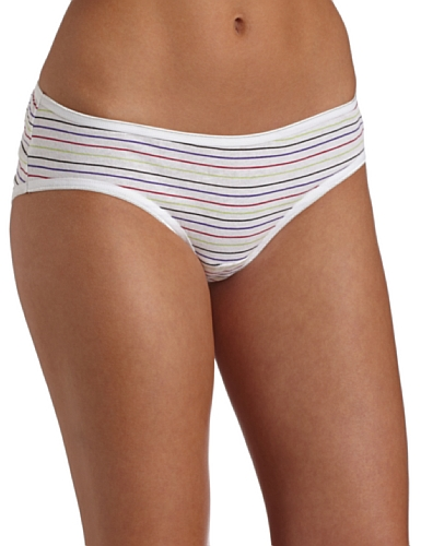 Fruit of the Loom Women's 6-Pack Cotton Hipster Panties