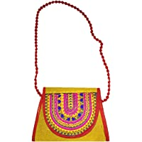 Sasha Kutchi Embroidery hand bag