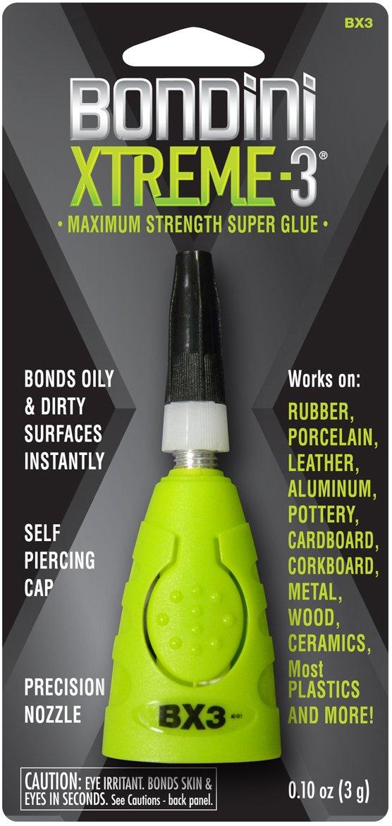 Super Glue Bondini BX3-6 3 Xtreme Glue, 6-Pack